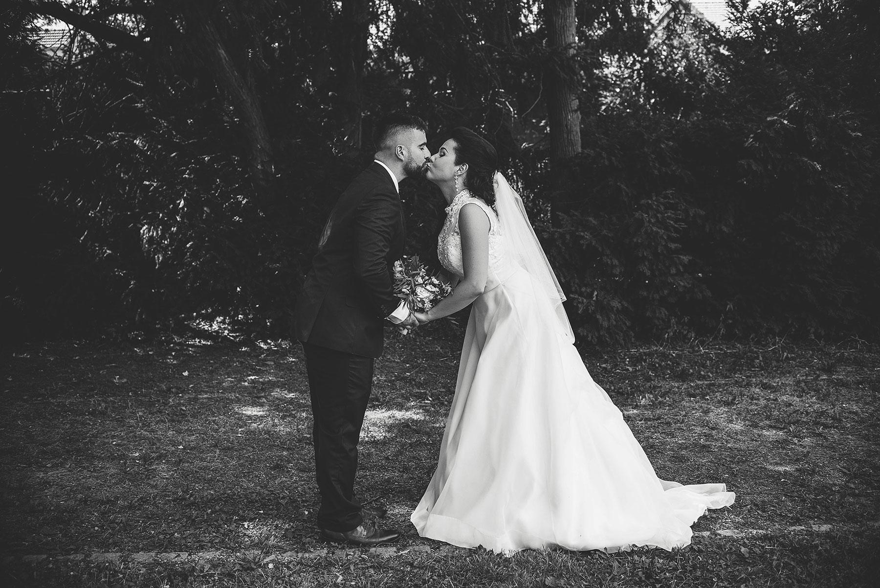 Svatba v brněnské myslivně
